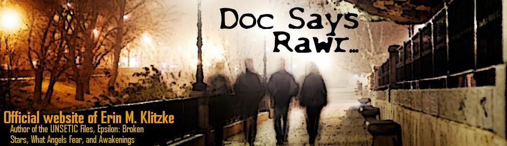 Doc Says Rawr!